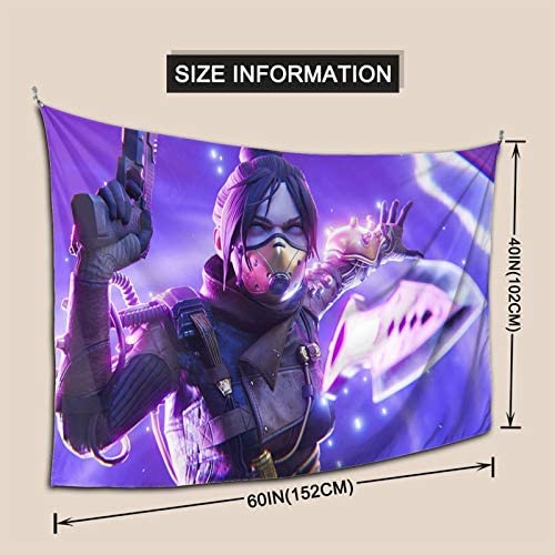 Coccko Apex Legends Livery Wall Hanging Wall Tapestry Art Home Decorations For Living Room Bedroom Kitchen Dorm Decor Gaming Tapestry 60x40 Inch