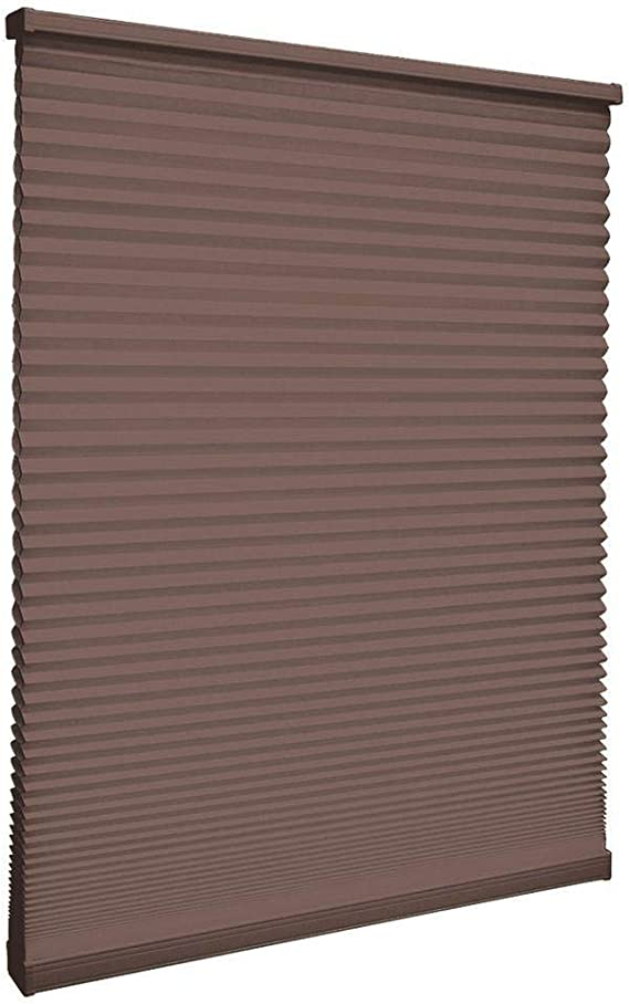 Amazon Com Home Decorators Collection Cut To Width Mocha 9 16 In Blackout Cordless Cellular Shade 29 In W X 48 In L Home Kitchen