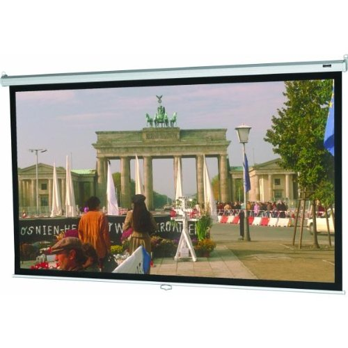 High Contrast Matte White Model B Manual Screen - Video Format Size: 43'' x 57''