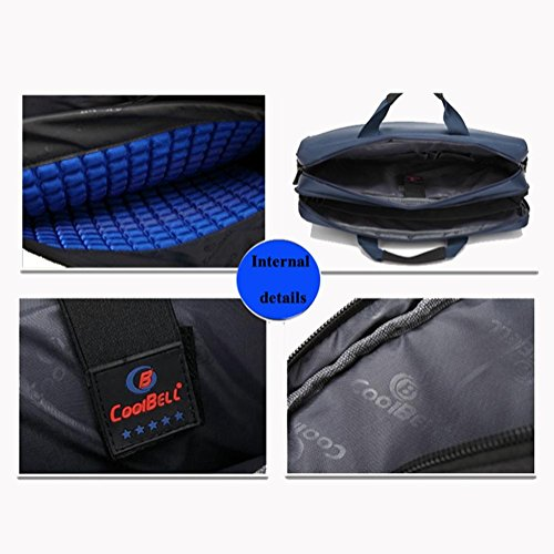 17 Zoll Computer Tasche Wasserdicht Nylon Stoff Für   Acer / Asus / Dell / Lenovo / Hewlett-Packard / Samsung / Sony / Toshiba / Tablet-Aktentasche Laptoptasche / Laptoptasche Blue EqkNa3