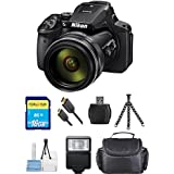 Nikon COOLPIX P900 Digital Camera (Black) [International Version] (Starter Bundle)