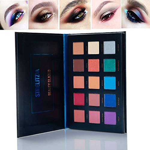 New 15 Colors Long Lasting Strelitzia Yellow Eyeshadow Palet