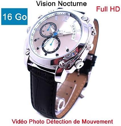 Reloj cámara oculta espía 16 GB Full HD 1920 x 1080P visión nocturna modelo cuirhd M16