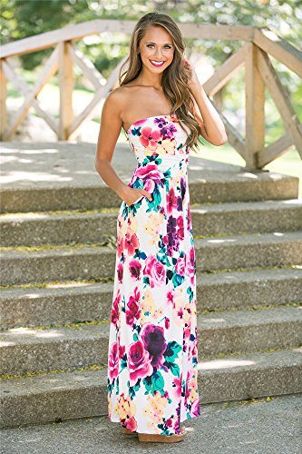 Miss Floral - Vestido - Paisley - Sin mangas - para mujer STYLE-B