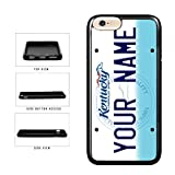 BleuReign(TM) Personalized Custom Name Kentucky State License Plate TPU RUBBER SILICONE Phone Case Back Cover For Apple iPhone 8 Plus and iPhone 7 Plus