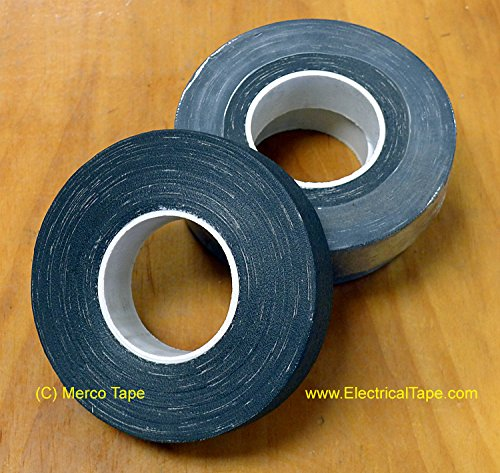 Merco M807 Friction Tape - 3/4'' x 60' - Black - 100 Rolls by Merco Tape