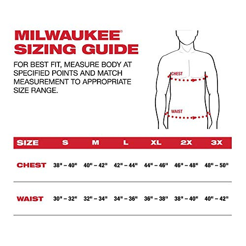 Milwaukee Hoodie KIT M12 12V Lithium-Ion Heated Front and Back Heat Zones Battery and Charger Included (Medium, Gray) by Milwaukee (Image #4)