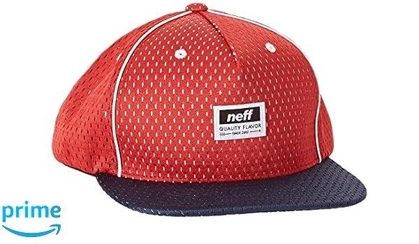 Neff World Champ Gorra Rojo, Color Rojo, tamaño FR : (Taille Fabricant : U): Amazon.es: Deportes y aire libre