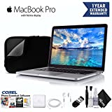 Apple 13.3 MacBook Pro Silver MLUQ2LL/A With Case, Corel Software, Magic Mouse, and Accidental Warranty - Essentials Bundle