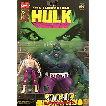 Amazon.com: Incredible Savage Hulk With Bruce Banner And