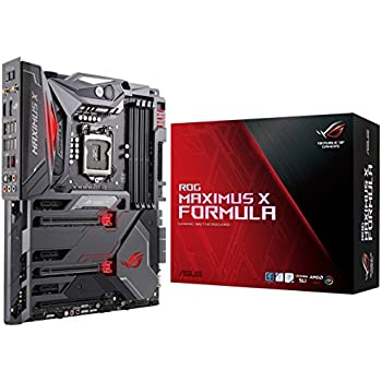 ASUS ROG Maximus X Formula LGA1151 (300 Series) DDR4 DP HDMI M.2 Z370 ATX Motherboard