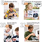 WISHKY STEM Toys Boys 10-12, science kit, Project for Kids, The Young Engineer- Sets for boys 8-12| 4WD Electric…