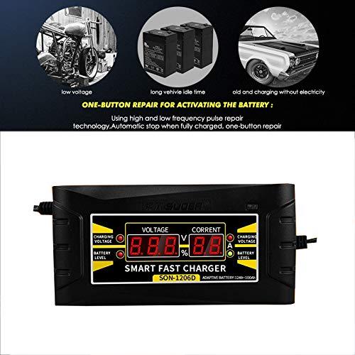 HYGLPXD Auto Starthilfe 12000mAh f/ür 12V Auto Anlasser mit Kfz Ladeger/ät Netzteil LCD Display EU,US,UK
