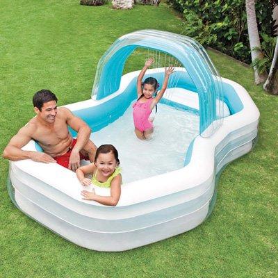 Intex Family Cabana Swim Center Pool, 122