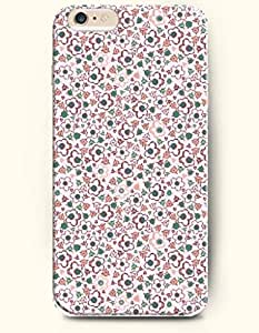 iPhone 6 Plus Case 5.5 Inches Beautiful Flowers - Hard Back Plastic Case OOFIT Authentic