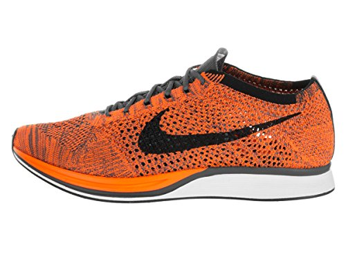 Blanco de White Racer Naranja Grey Gris adultos Zapatillas deporte Nike Dark Unisex Orange Flyknit Total 8Uqw5t1