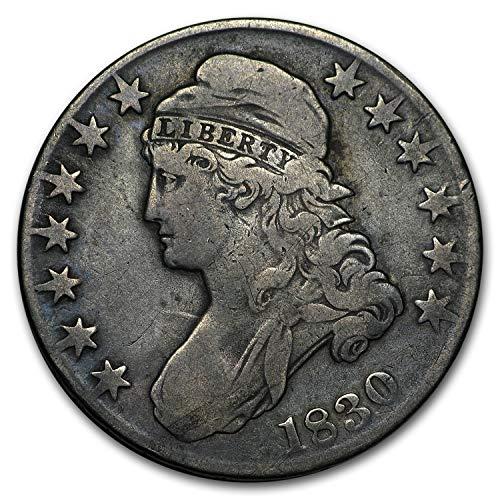 1830 Capped Bust Half Dollar Fine (Small O) Half Dollar Fine