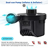 Electric Air Pump Air Mattress Pump Portable