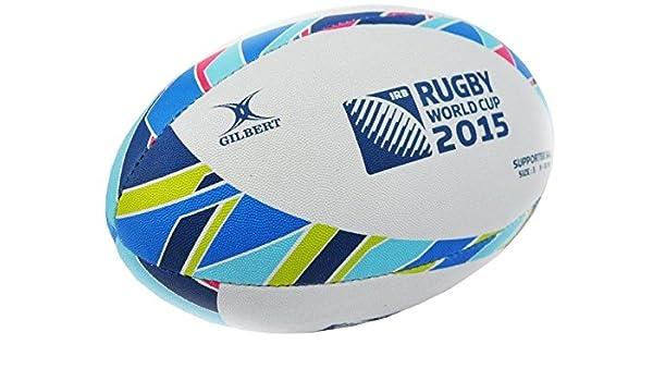 Balón Oficial - Talla 5 - Rugby Gilbert IRB RWC - Supporter - Copa ...