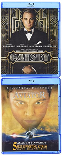 Blu-ray : The Aviator / The Great Gatsby (Shrink Wrapped, Side By Side Packaging, 2 Pack, 2PC)