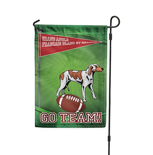 Football Fan GRAND ANGLO FRANCAIS BLANC ET ORANGE DOG Yard B