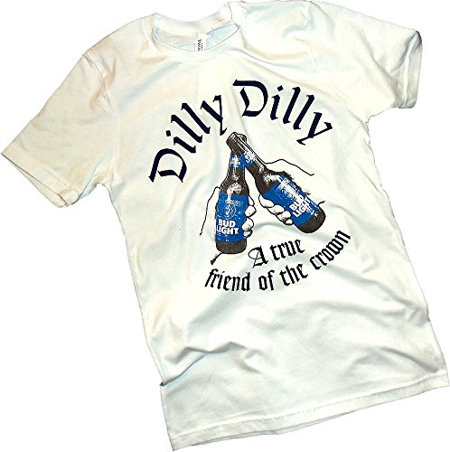 Anheuser Busch  Dilly Dilly  Bud Light  A True Friend  Adult T Shirt  Large