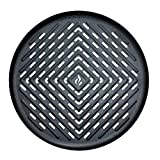 Air Fryer Grill Pan Accessory Compatible with GoWise USA 2.7 QT, Black+Decker 2L, Secura 3.4QT, Harbor 3.8QT, Tidylife 3.5QT, AAOBOSI, Brevo, Fereol +More Round AirFryers Small to Med | by Infraovens