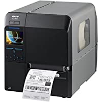 Sato WWCL02161 Series CL4NX High Performance Thermal Printer, 203 dpi Resolution, 10 ips Print Speed, Serial/Parallel/Ethernet/USB/Bluetooth Interface, Cutter, Real Time Clock, 4