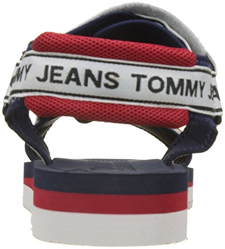 Tommy Jeans Men's Technical Ankle Strap Sandals Blue (Midnight 403) BiNxoN7oM