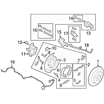Amazon Com Ford Dl3z 2268 B Disc Brake Hydraulic Hose Automotive