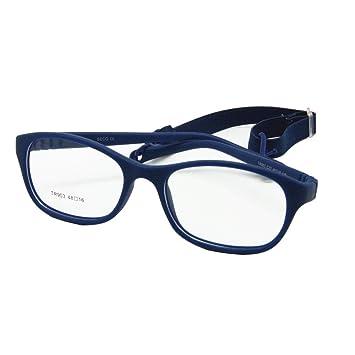 95c260512c0 Amazon.com  EnzoDate Children Optical Glasses Frame with Strap Size ...