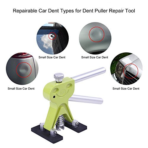 AUTOPDR 29Pcs DIY Pops a Dent PDR Tool Kit Dent Repair Tools Car Dent Remover Paintless Dent Removal Kit Suction Cup Dent Puller with Hot Melt Glue Gun Sticks by AUTOPDR (Image #2)