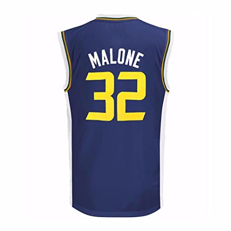 c7f9d5a09 ... canada karl malone utah jazz nba adidas boys navy blue official road  replica basketball jersey 5