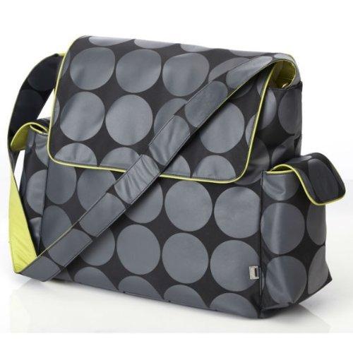 【超歓迎された】 OiOi Charcoal Dot Messenger Baby Changing Bag Accessories with Lining Lime Changing Lining and Accessories B001QK43JC, 新入荷:b9236103 --- hohpartnership-com.access.secure-ssl-servers.biz