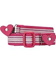 Playshoes Elastik-gürtel Herz-Clip Ringel Cinturón para Niñas