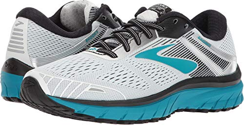 Brooks Women's Adrenaline GTS 18 White/Black/Teal 10.5 B US