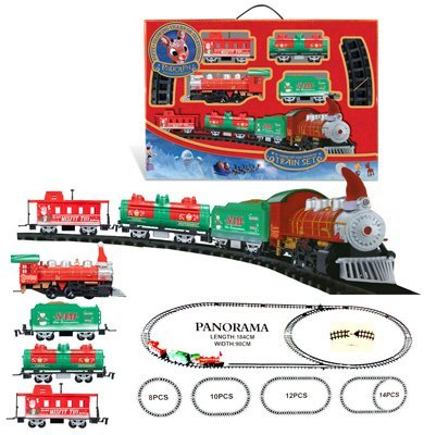 Rudolph the Red Nosed Reindeer O-Gauge Battery Operated Train Set