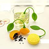 Novelty Home Loose Tea Leaf Silicone Influser Strainer - Best Reviews Guide