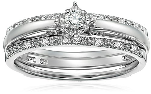 previous - Silver Diamond Wedding Rings