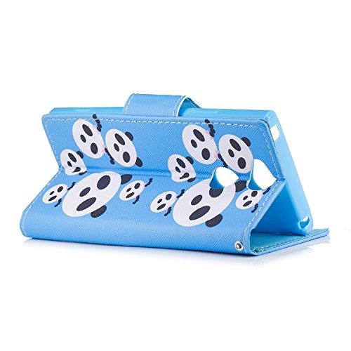 carte Pu Portafoglio In Xa2 Porta Porta Mosoris Cover Panda Crossgrain Carte Flip Con Copertura Xperia Credito Pelle biglietti Porta Stand Case E Per Sony Funzione Di Custodia tpu zq0qPw