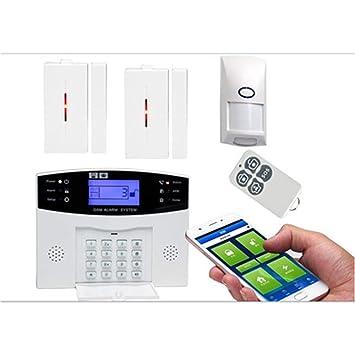 BUG-L Sistema Alarma Seguridad InaláMbrico GSM, Detector ...