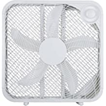 "Hawaiian Breeze 20"" Box Fan (White)"