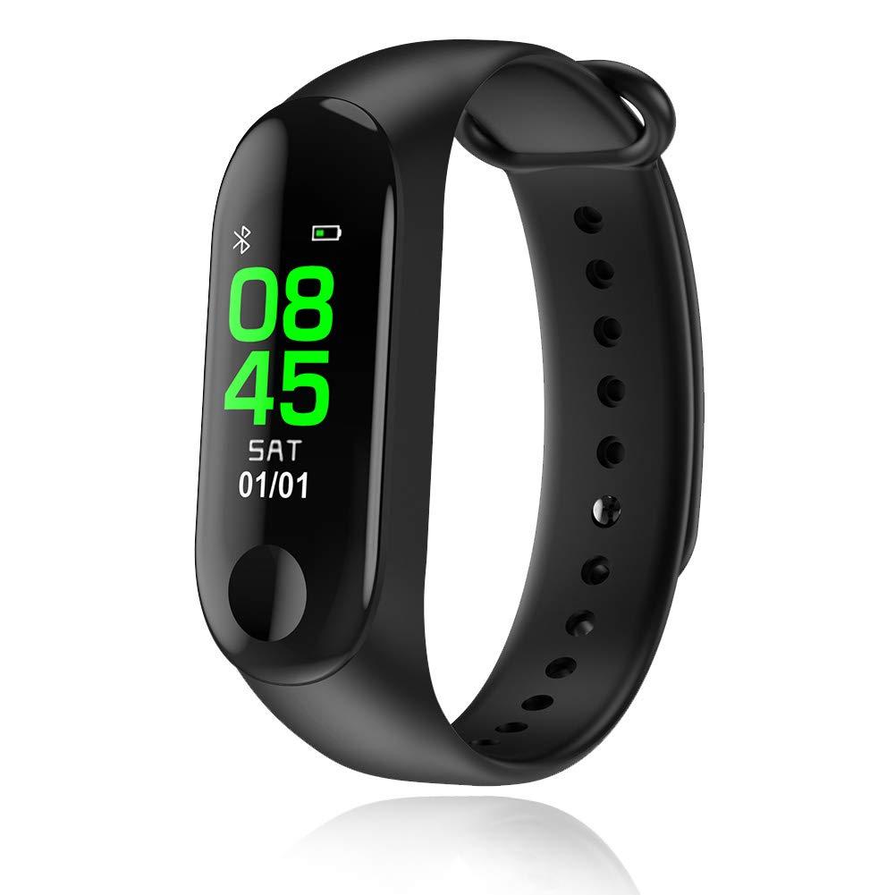 スマートウォッチ 2019最新 心拍数 血圧 歩数計 スマートブレスレット IP67防水 smart watch メンズ腕時計 Bluetooth APPデータの同期、健康、電話着信、LINE通知 Android&iPhone 日本語対応