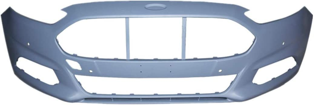 WFLNHB Front Bumper Cover fit for 2013 2014 2015 2016 Ford Fusion w//Fog lamp Holes Primed