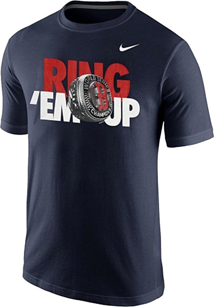 dd7e6b99 Amazon.com: Nike Boston Red Sox Men's MLB 2013 World Series Champions Ring  Em Up T-Shirt: Clothing