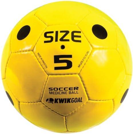 Kwik Goal Soccer Medicine Ball, Yellow