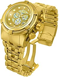 Mens Bolt Quartz and Stainless Steel Casual Watch, Color:Gold-Toned