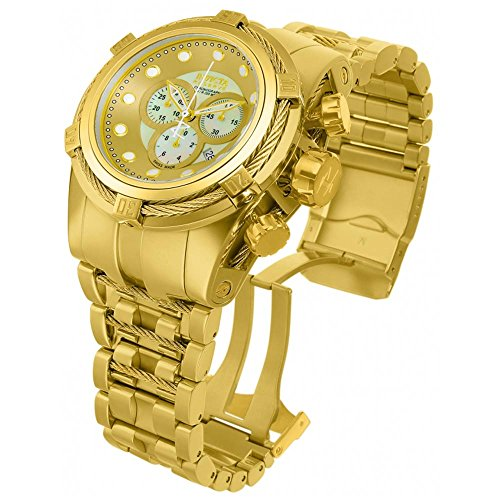 Invicta Men's 12738 Bolt Analog Display Quartz Gold Watch