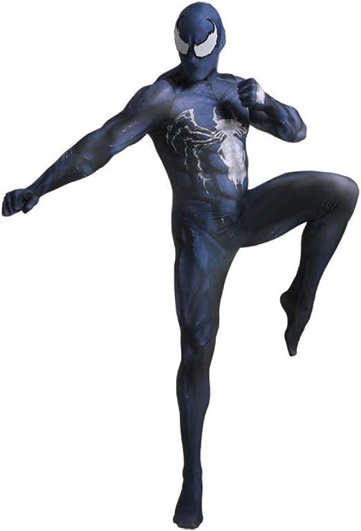 AKCHIUY Disfraz Spiderman Niño, Carnaval Superhéroe Adultos Traje ...