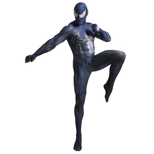 AKCHIUY Disfraz Spiderman Niño, Carnaval Superhéroe Adultos ...
